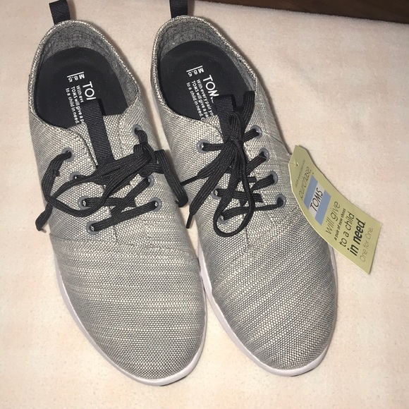 New Mens Toms Del Rey Sneakers Size 85